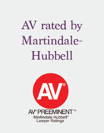 Insurance Industry counsel for over 30 years AV rated by Martindale-Hubbell.