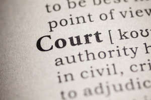 Dictionary definition of court